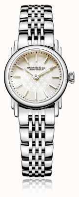 Dreyfuss Damski zegarek z masy perłowej ze stali nierdzewnej DLB00047/07