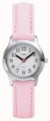 Timex Zegarek damski / różowy dla dzieci T79081