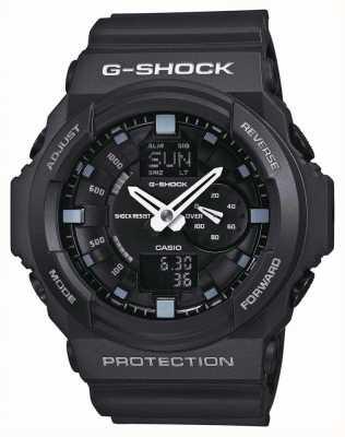 Casio Czarny chronograf męski g-shock GA-150-1AER