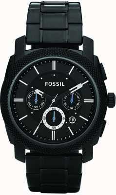 Fossil Męski zegarek z czarnej chronografu FS4552