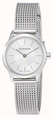 Calvin Klein Minimalne damskie | pasek ze stali nierdzewnej | K3M23126