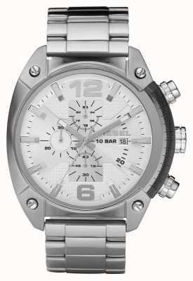Diesel Męski zegarek ze stali nierdzewnej chronograf DZ4203