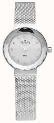 Skagen Damski zegarek ze stali siatkowej 456SSS
