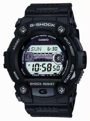 Casio Męski czarny cyfrowy chronograf g-shock GW-7900-1ER