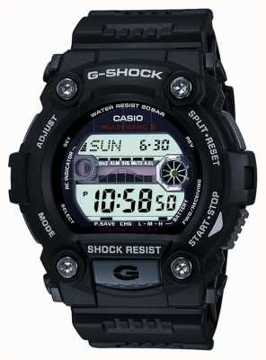 Casio Męski czarny chronograf cyfrowy g-shock GW-7900-1ER