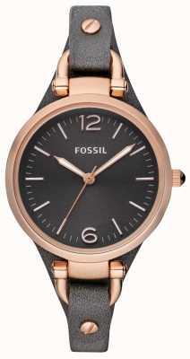 Fossil Zegarek analogowy ze skóry damskiej ES3077