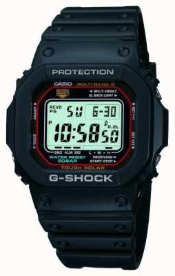 Casio Męski chronograf z cyfrowym alarmem g-shock GW-M5610-1ER