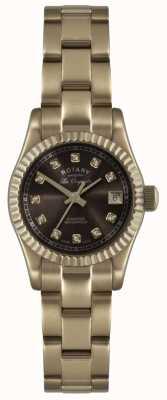 Rotary Damski zegarek w kolorze różowego złota Les Originales Verbier, ex-display LB08153/16EX-DISPLAY