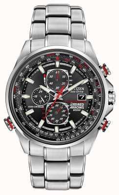 Citizen Czerwone strzałki Genta na zegarze eco-drive chronografu d9 AT8060-50E