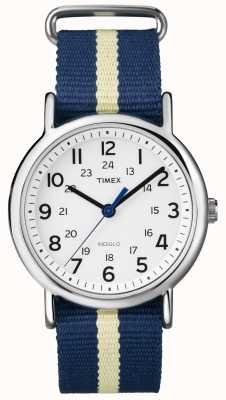 Timex Zegarek tygodniowy z indiglo T2P142