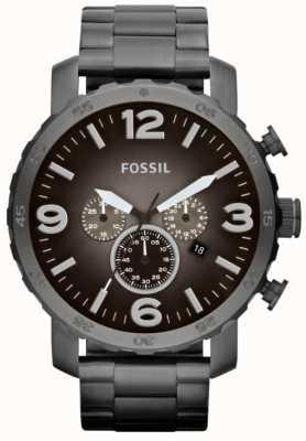 Fossil Męski chronograf ze stali nierdzewnej JR1437