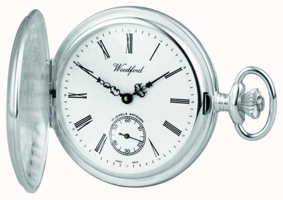 Woodford | pełny łowca | srebro | zegarek kieszonkowy | 1001