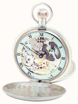 Woodford Srebrny, podwójny zegarek kieszonkowy 1066