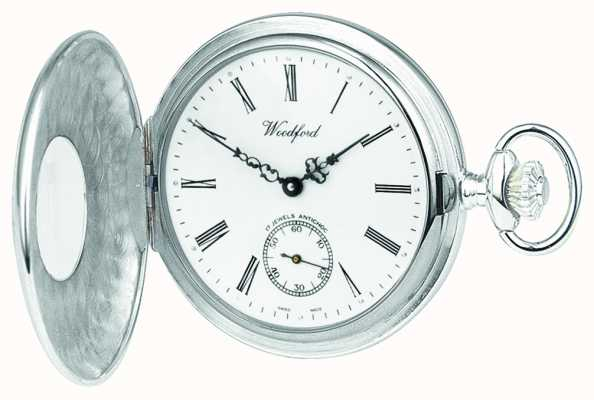 Woodford Zegarek kieszonkowy srebrny 1/2 myśliwego 1067