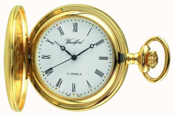 Woodford Męski mechaniczny zegarek kieszonkowy 1056