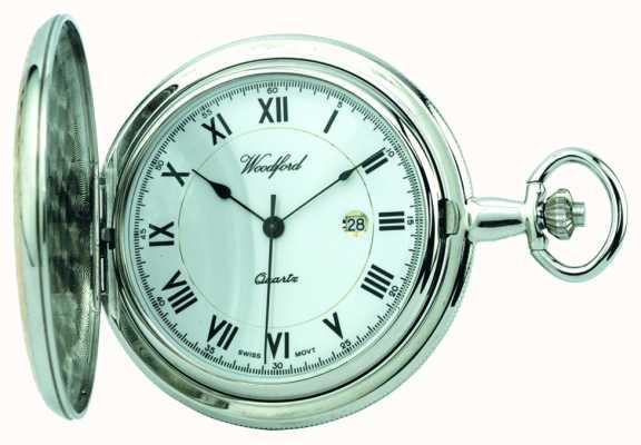 """Woodford Męski zegarek kieszonkowy typu """"myśliwy"""" 1218"""