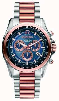 Roamer Męskie zegarki ze stali nierdzewnej ze stali nierdzewnej i różowego złota 220837494520