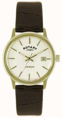 Rotary Zegarek męski Avenger ze złotej taśmy GS02876/03