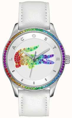 Lacoste Wielobarwny biały zegarek Victoria 2000822