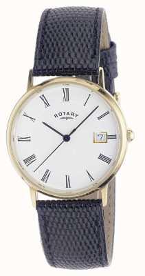 Rotary Męski zegarek z 9-karatowego złota GS11476/01