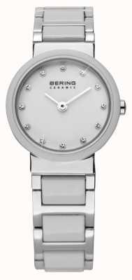 Bering Dwukolorowy ceramiczny zegarek 10725-754