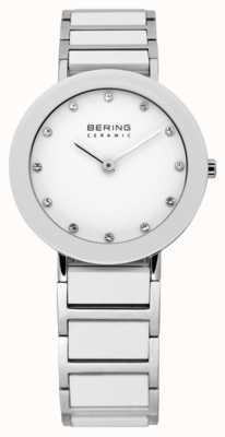 Bering Zegarek z ceramicznej i metalowej bransoletki 11429-754