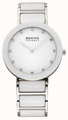 Bering Zegarek z ceramicznej i metalowej bransoletki 11435-754