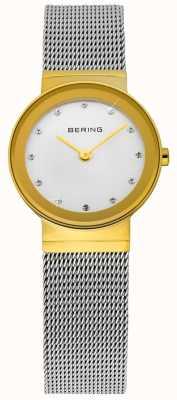 Bering Czas panie złote i srebrne klasyczne oczka 10122-001
