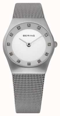 Bering Zegarek damski z siatki 11927-000