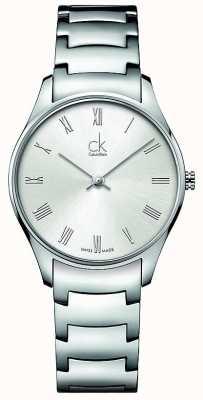 Calvin Klein Klasyczny zegarek damski ze stali nierdzewnej K4D2214Z
