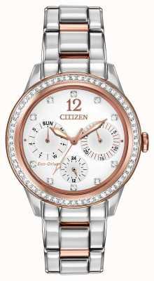 Citizen Kryształowy zegarek damski FD2016-51A