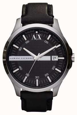 Armani Exchange Męski skórzany pasek na rękę AX2101