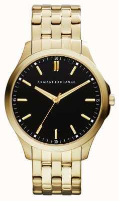 Armani Exchange Zegarek męski hampton o niskim profilu AX2145