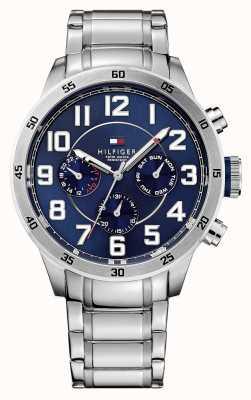 Tommy Hilfiger Męski zegarek z chronografem w kolorze niebieskim 1791053