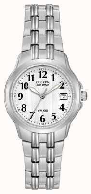 Citizen Sportowy zegarek ze sportową sylwetką dla kobiet EW1540-54A