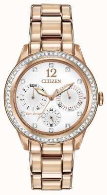 Citizen Kryształowy zegarek damski FD2013-50A