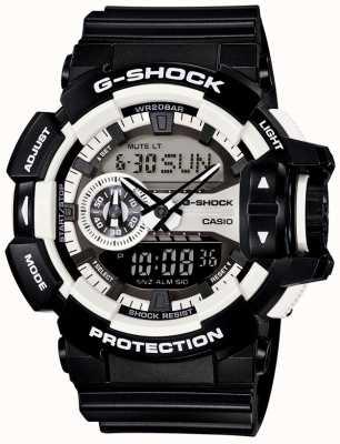 Casio Mężczyzna g-shock czarny zegarek GA-400-1AER