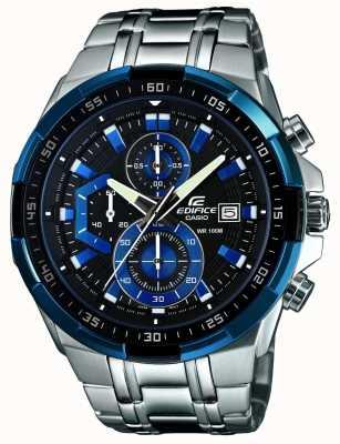 Casio Męski zegarek chronograf EFR-539D-1A2VUEF