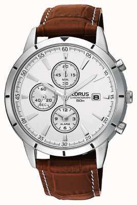 Lorus Męski zegarek z paskiem chronografu RF325BX9