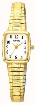 Lorus Klasyczny, złocony zegarek damski RPH56AX9