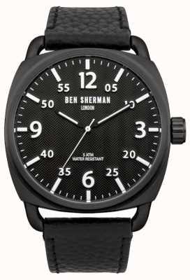 Ben Sherman Męski zegarek z jodełką WB008B