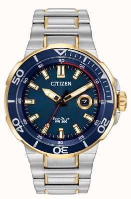 Citizen Męski zegarek ekologicznego napędu AW1424-54L