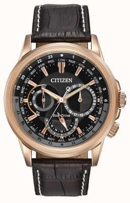 Citizen Męski zegarek chroniący przed kalandrami z różowego tonu eco-drive BU2023-04E