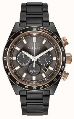 Citizen Sportowy chronograf eco-drive CA4207-53H