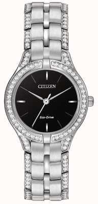 Citizen Damski zegarek z kryształową eko-sylwetką FE2060-53E