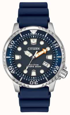 Citizen Promaster profesjonalnego nurka niebieskiej gumy BN0151-09L