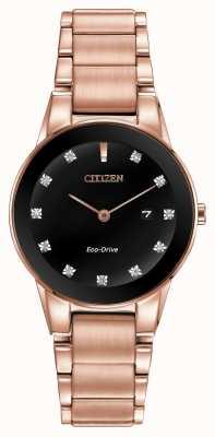 Citizen Damski aksjomat w kolorze różowego złota GA1058-59Q