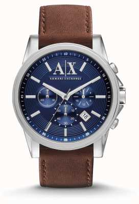 Armani Exchange Zegarek chronograf męski Outerbanks AX2501