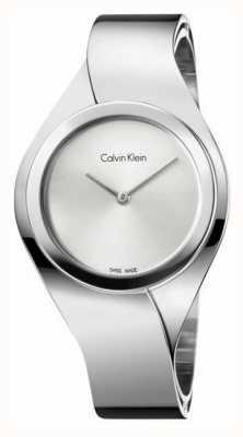 Calvin Klein Damskie zmysły, zegarek ze stali nierdzewnej K5N2M126