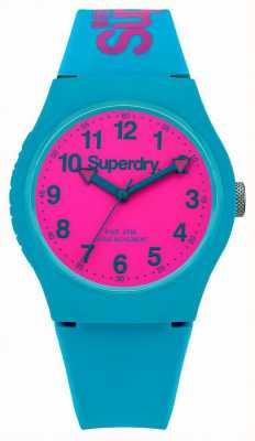 Superdry Miejski pasek silikonowy do zegarków SYG164AUP